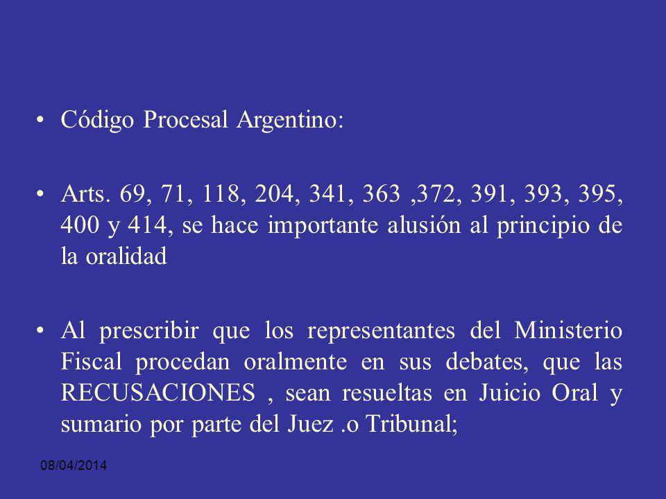 08/04/2014 LA ORALIDAD Y S.P.A.