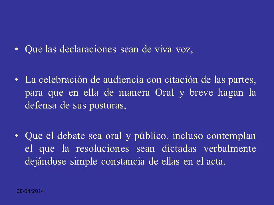 08/04/2014 Código Procesal Argentino: Arts. 69, 71, 118, 204, 341, 363,372, 391, 393, 395, 400 y 414, se hace importante alusión al principio de la or