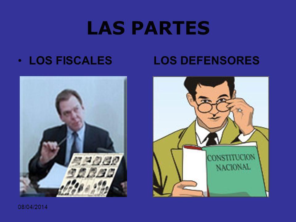 08/04/2014 LOS JUECES DE CONTROL DE GARANTÍAS DE CONOCIMIENTO