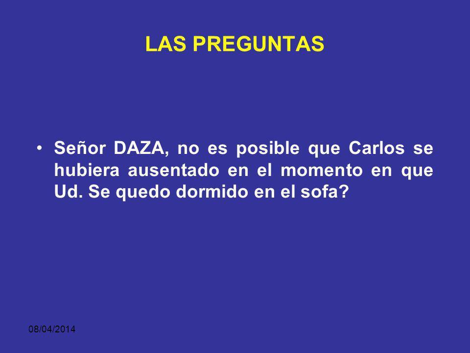 08/04/2014 LAS PREGUNTAS SUGESTIVA: SUGIEREN LA RESPUESTA.