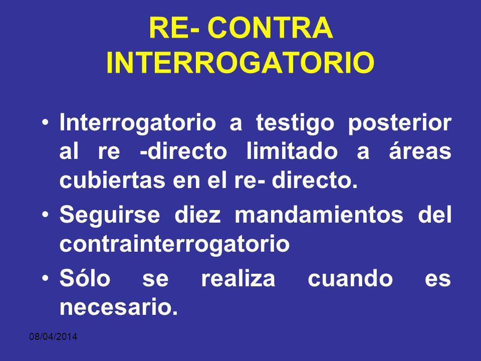 08/04/2014 RECONTRA INTERROGATORIO