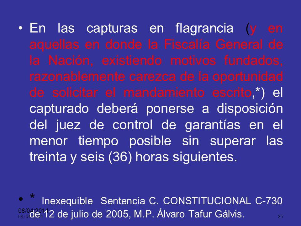 08/04/2014 84 Igualmente, por petición de cualquiera de las partes, en los términos señalados en el código, dispondrá la modificación o revocación de