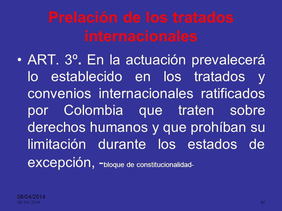 08/04/2014 85 En las capturas en flagrancia (y en aquellas en donde la Fiscalía General de la Nación, existiendo motivos fundados, razonablemente care