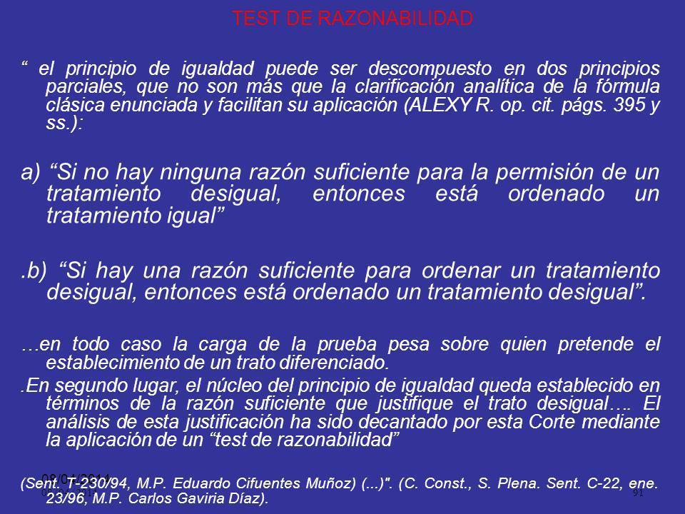 08/04/2014 90 Igualdad. ART. 4 º Es obligación de los servidores judiciales hacer efectiva la igualdad de los intervinientes en el desarrollo de la ac
