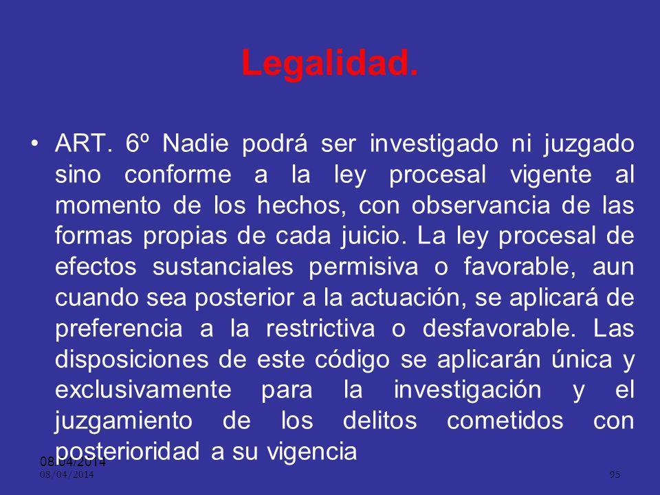 08/04/2014 94 ASPECTOS PRACTICOS Restricciones a la publicidad por motivos de interés de la justicia. Cuando los intereses de la justicia se vean perj