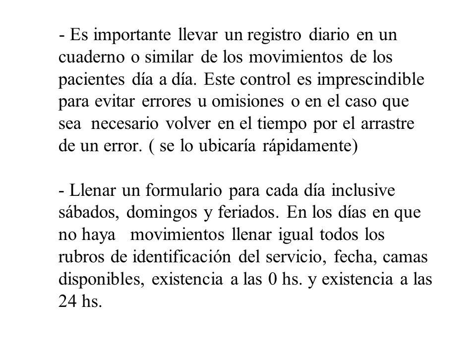 No incluir en el Censo Diario apellido de casada, porque: - En el documento figura el apellido de soltera.