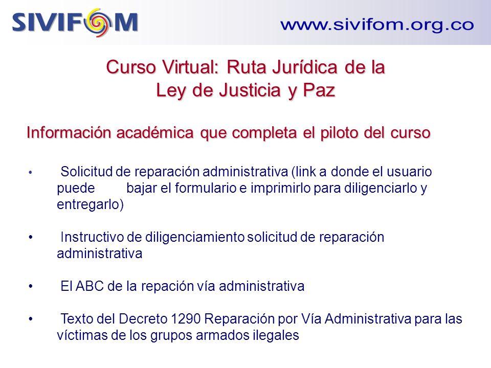 Solicitud de reparación administrativa (link a donde el usuario puede bajar el formulario e imprimirlo para diligenciarlo y entregarlo) Instructivo de