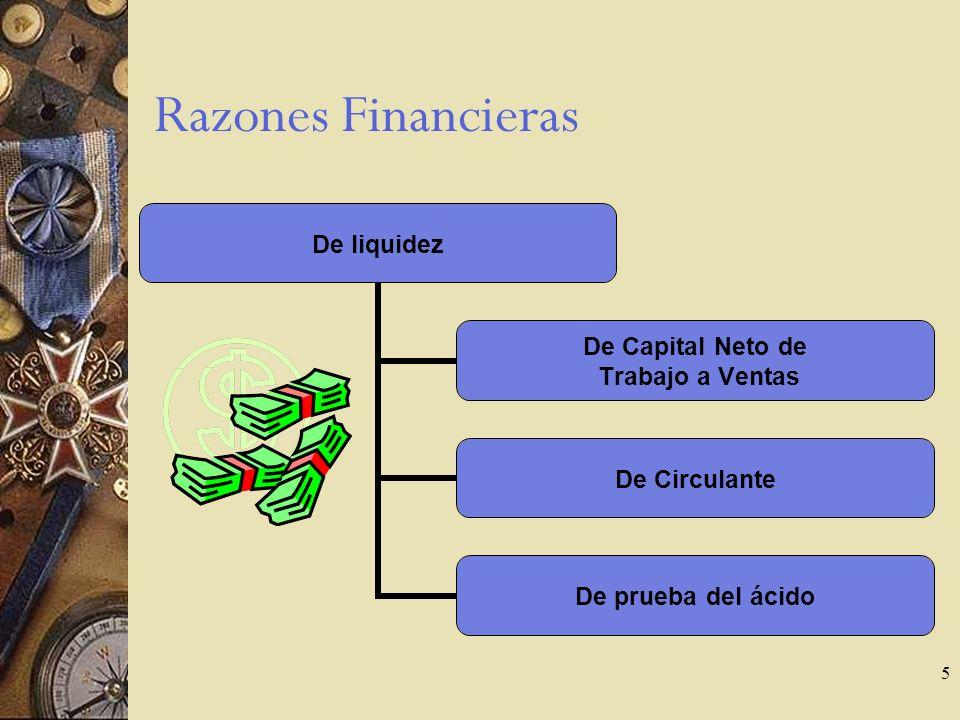 5 Razones Financieras