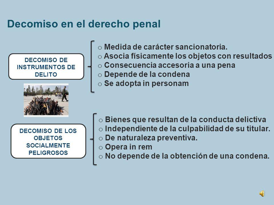 Las consecuencias patrimoniales del delito Indemnización de la víctima Obligación civil de reparar Multa (art. 5) Castigo proporcional al reproche Dec