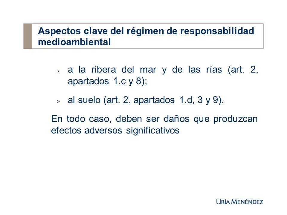 5.Obligaciones de los operadores: 5.1.Comunicar inmediatamente la existencia del daño medioambiental o la amenaza inminente de dicho daño (art.