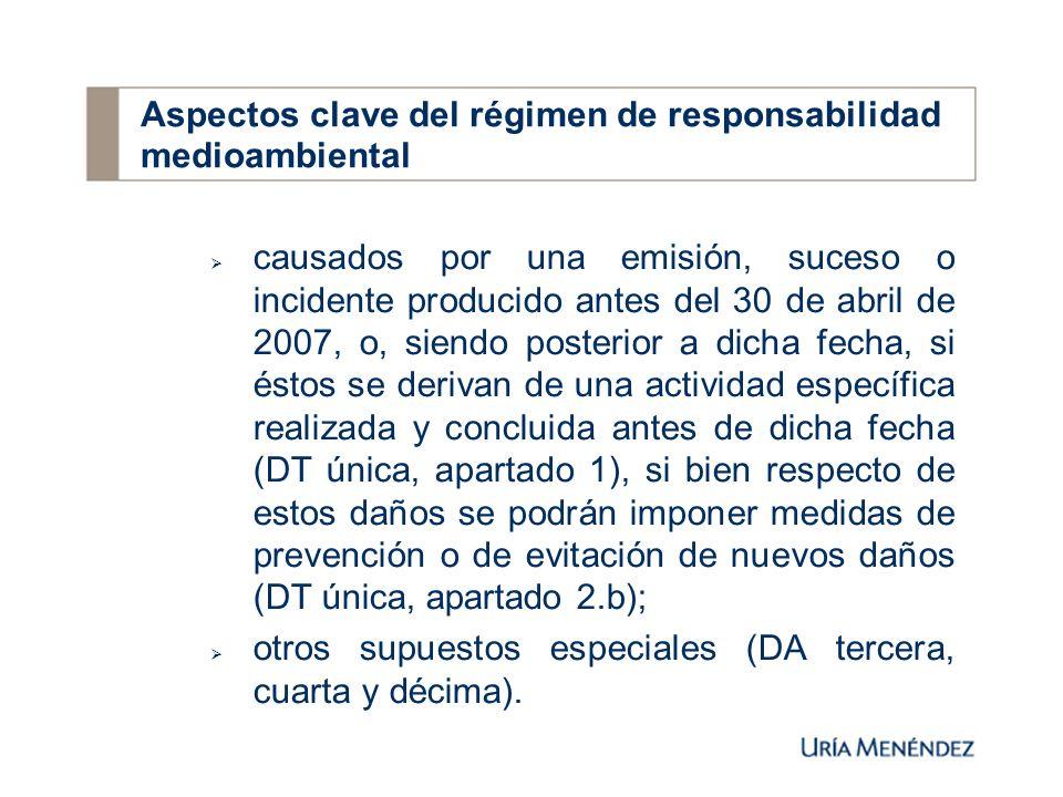 7.3.Potestades administrativas: Autoridad competente: con carácter general, las Comunidades Autónomas (art.
