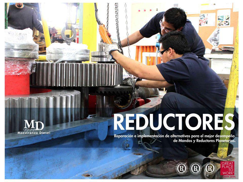 Algunos de nuestros trabajos Equipo o componenteAplicaciónCliente MANDO FINAL 355 GFA PALA ELÉCTRICA BUCYRUS 495 B2 ANGLO AMERICAN DIV.