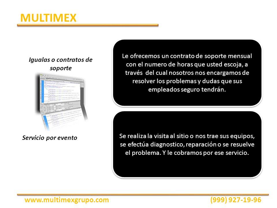La conexión de tus computadoras en red es un proceso sencillo, económico y ofrece muchos beneficios, tales como: Compartir impresoras y Archivos Seguridad Acceso a internet Respaldo de datos MULTIMEX www.multimexgrupo.com(999) 927-19-96