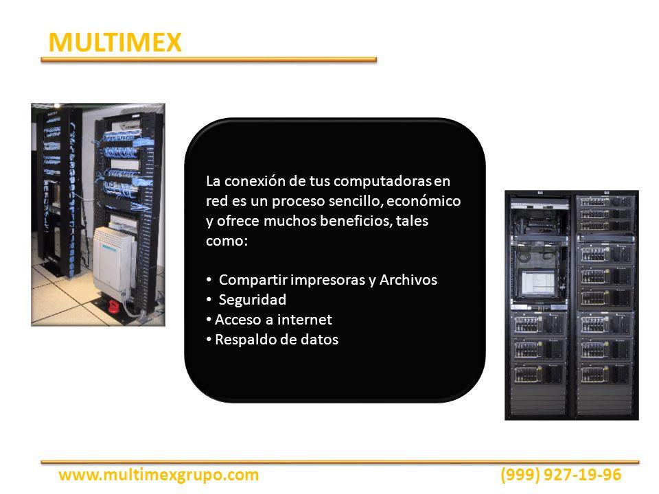 La conexión de tus computadoras en red es un proceso sencillo, económico y ofrece muchos beneficios, tales como: Compartir impresoras y Archivos Segur
