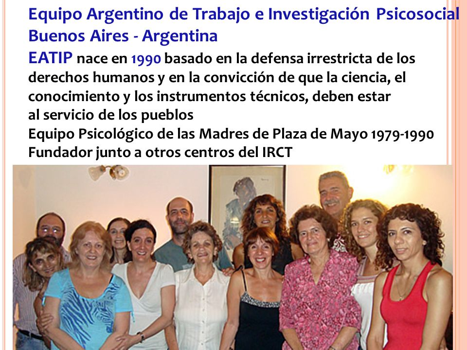 Seminario Regional – CCTI - México 2012 - NSA www.eatip.org.ar