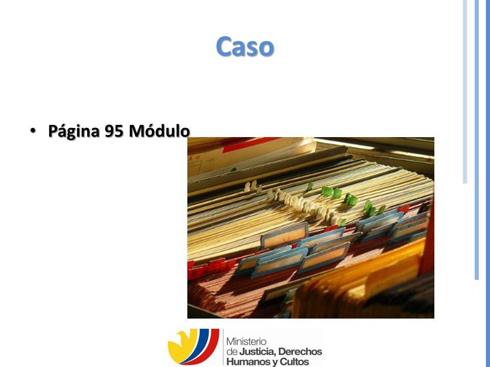 Caso Página 95 Módulo Página 95 Módulo