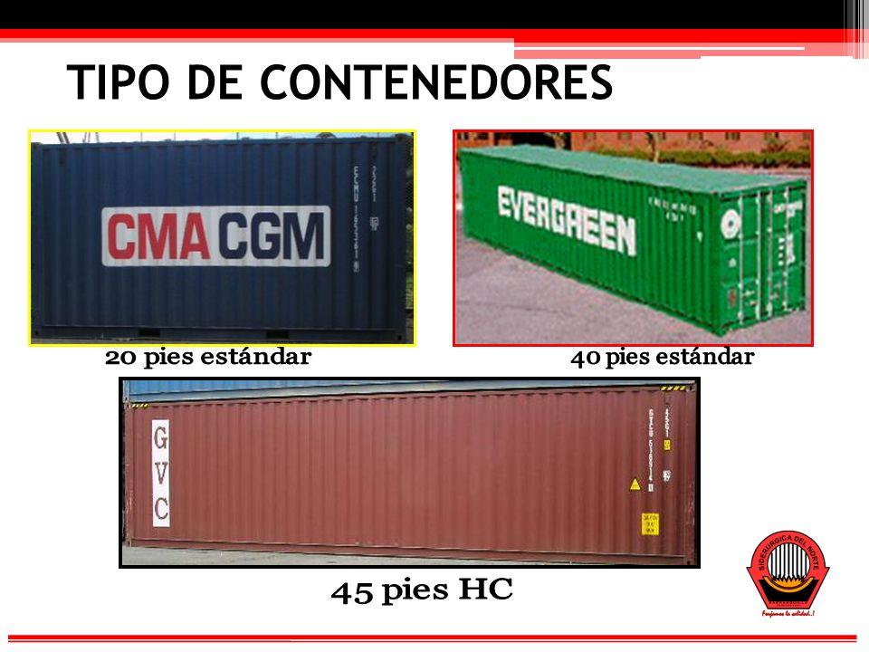 TIPO DE CONTENEDORES