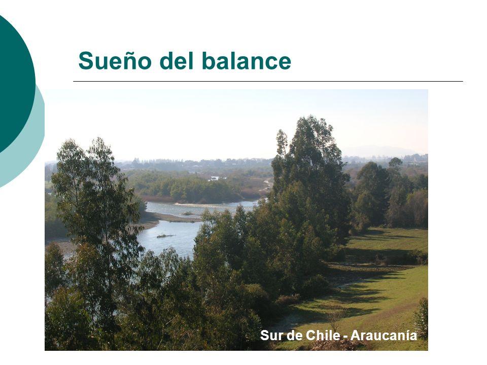 Sueño del balance Sur de Chile - Araucanía