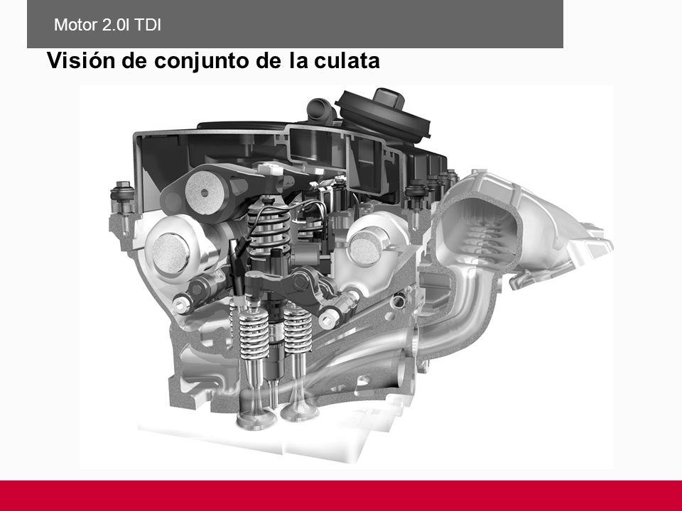 Visión de conjunto de la culata Motor 2.0l TDI