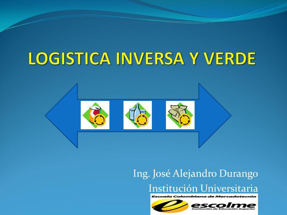 Ing. José Alejandro Durango Institución Universitaria