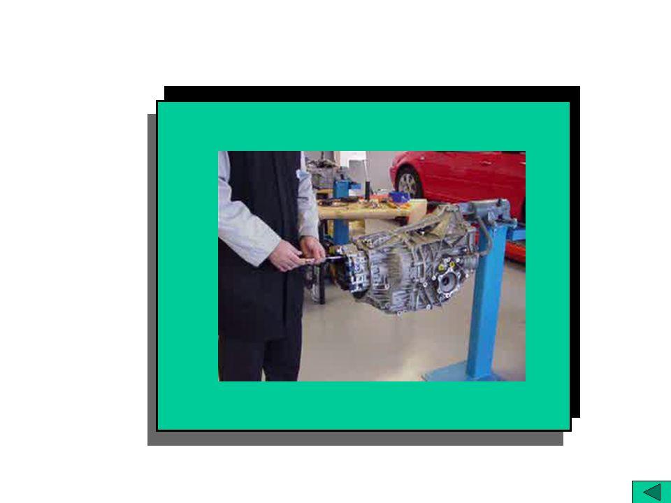 Retentor de la palanca. Selector manual Accionamiento bomba ATF