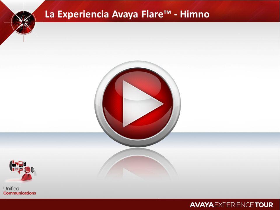 La Experiencia Avaya Flare - Himno
