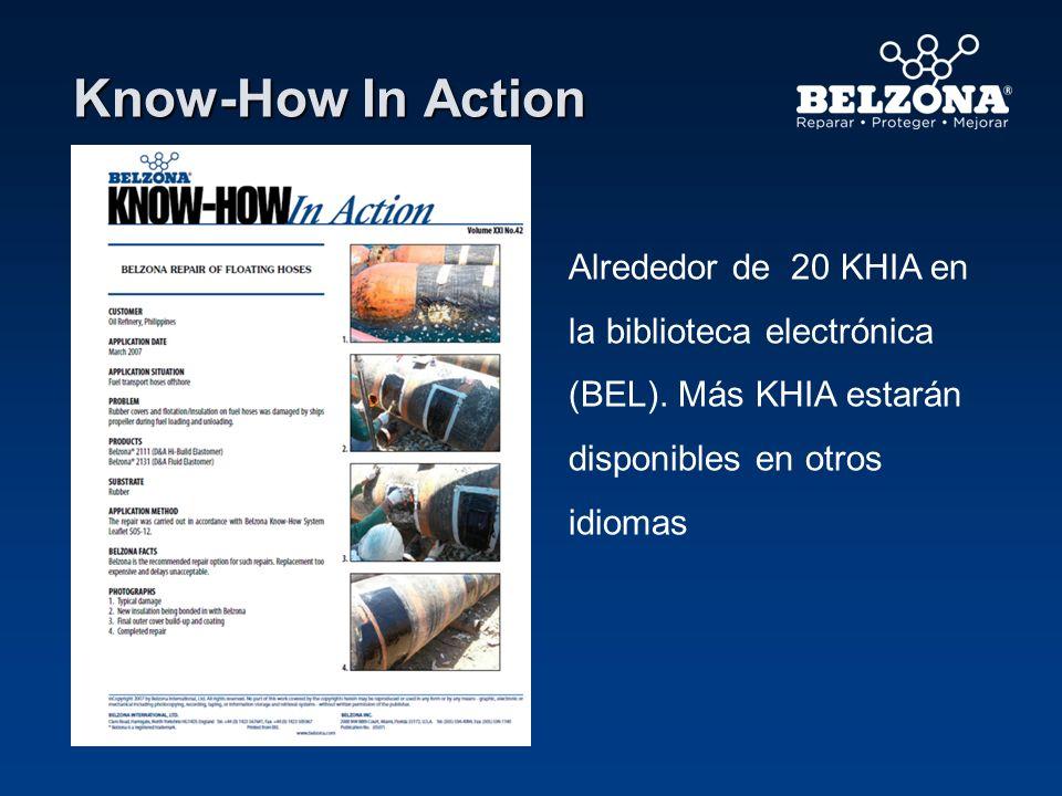 Know-How In Action Alrededor de 20 KHIA en la biblioteca electrónica (BEL). Más KHIA estarán disponibles en otros idiomas