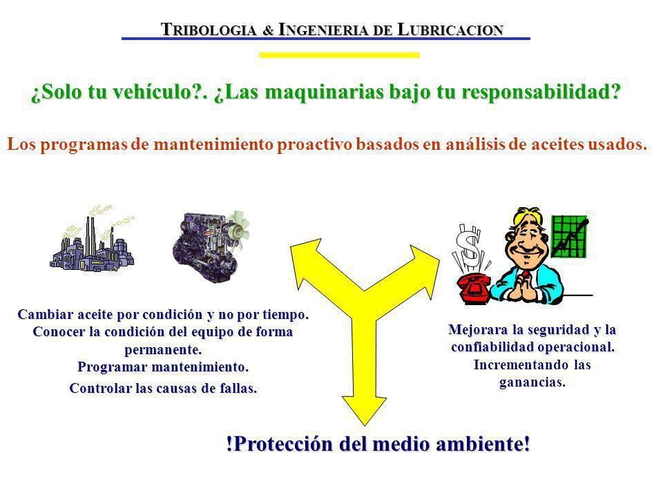 ¿Solo tu vehículo?.¿Las maquinarias bajo tu responsabilidad.