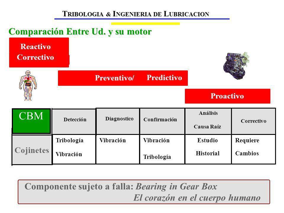 Adhesión Abrasión Erosión Fatiga Causas de disminución de la vida útil de un equipo T RIBOLOGIA & I NGENIERIA DE L UBRICACION