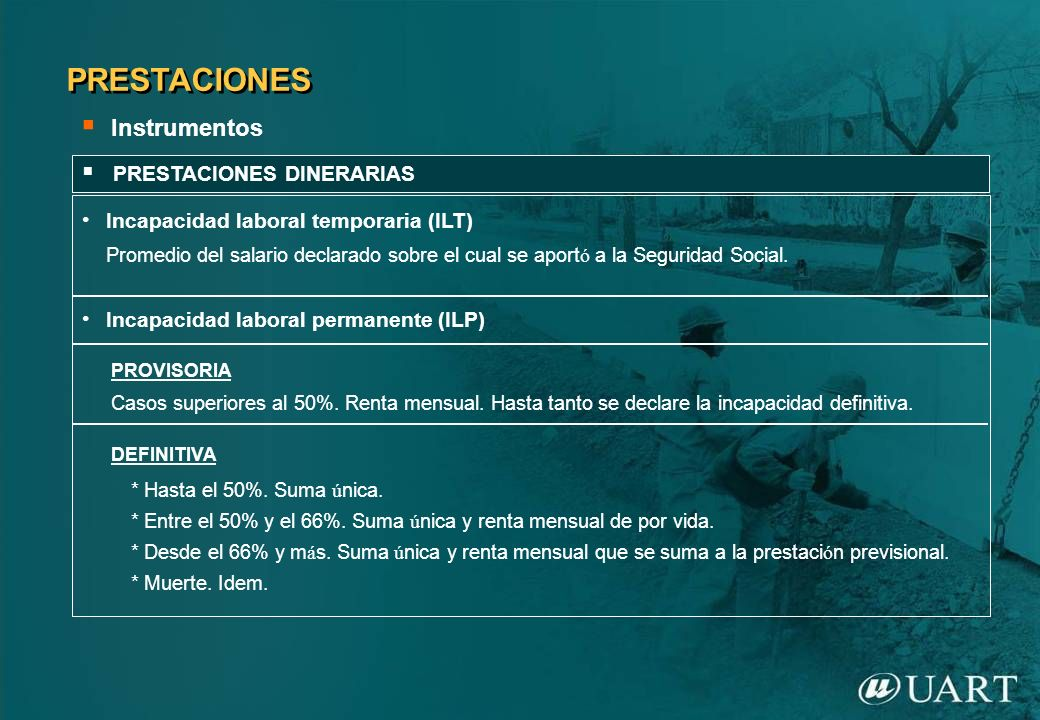 PRESTACIONES DINERARIAS CONTINGENCIAS PREVIAS AL 6/11/09CONTINGENCIAS DESDE Y POSTERIORES AL 6/11/09 ILT.