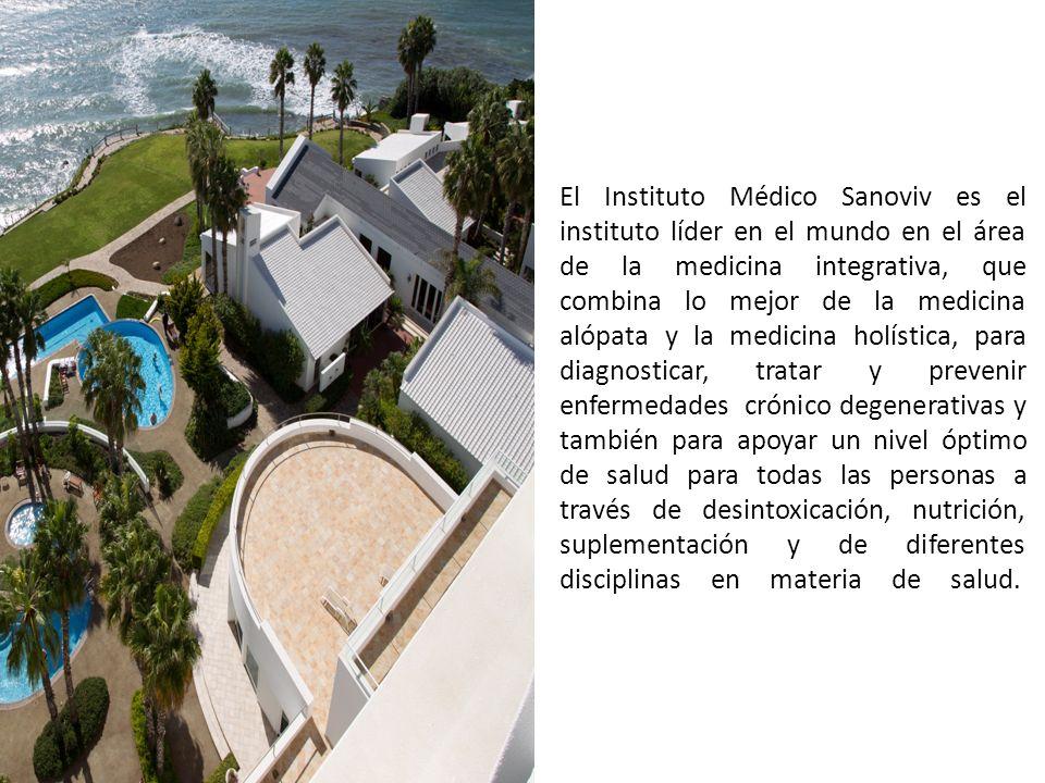 El Instituto Médico Sanoviv es el instituto líder en el mundo en el área de la medicina integrativa, que combina lo mejor de la medicina alópata y la