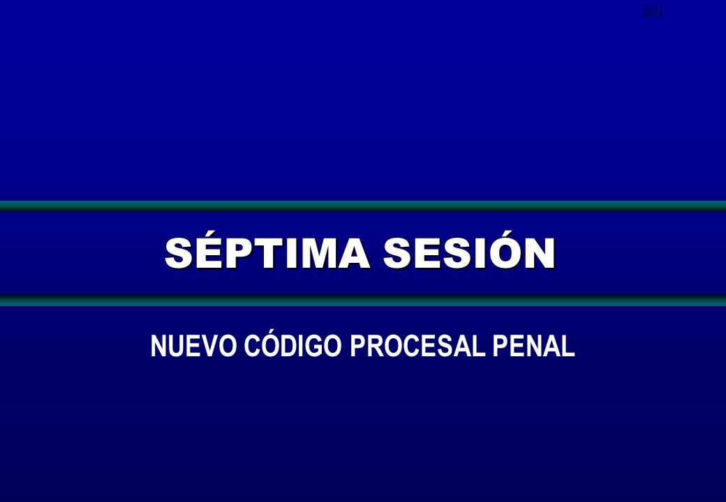 201 SÉPTIMA SESIÓN NUEVO CÓDIGO PROCESAL PENAL