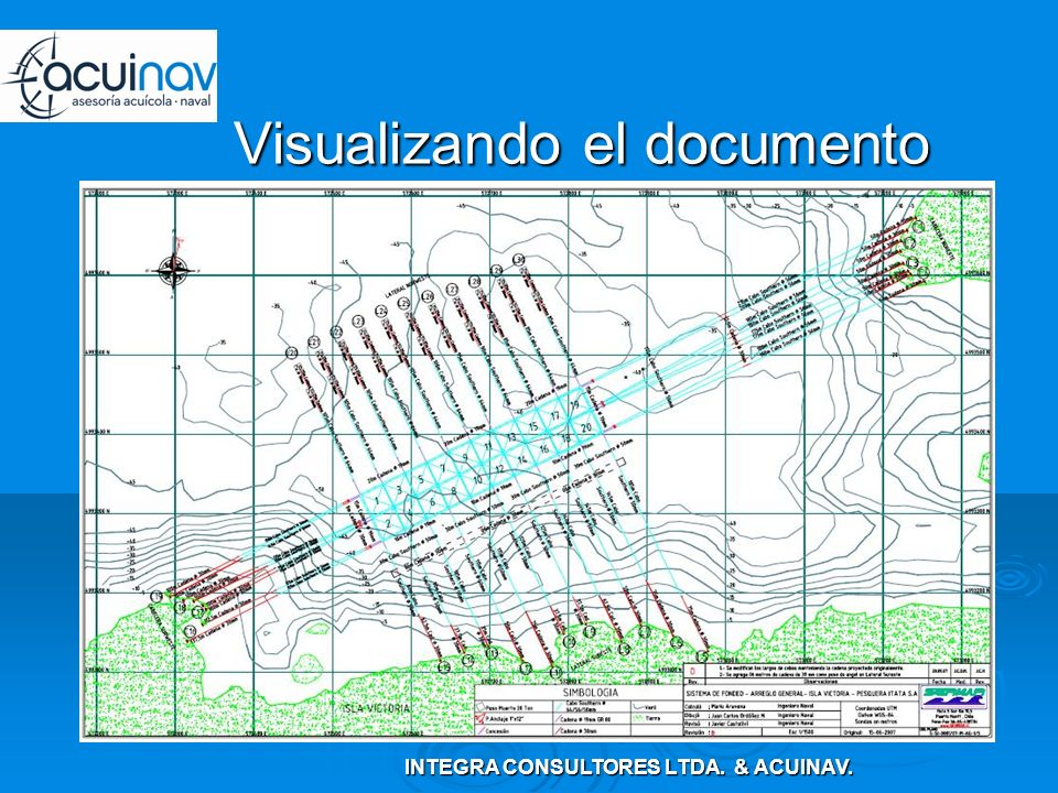 Visualizando el documento INTEGRA CONSULTORES LTDA. & ACUINAV.