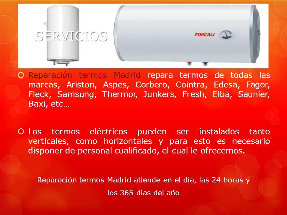 SERVICIOS Reparación calefacción Madrid realiza reparaciones e instalaciones de calefacción y climatización a gas, incluso instalamos sistemas de clim
