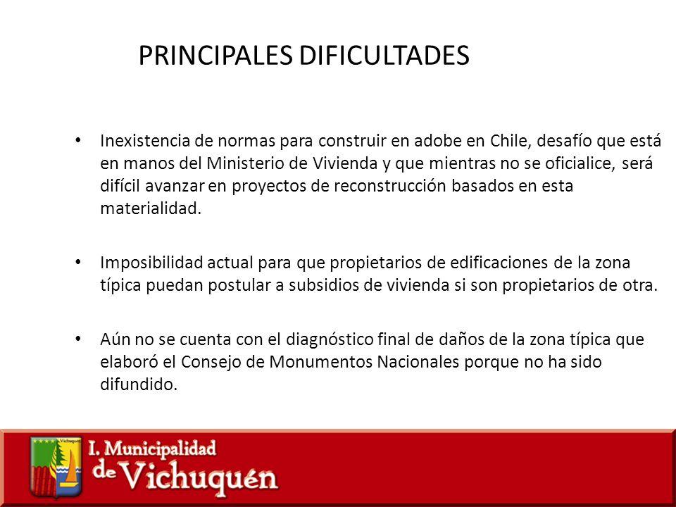 Inexistencia de normas para construir en adobe en Chile, desafío que está en manos del Ministerio de Vivienda y que mientras no se oficialice, será di
