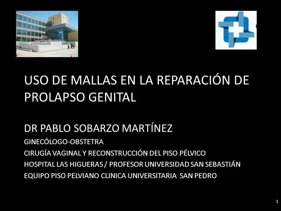 Otros factores asociados Atrofia genital Diabetes Mellitus Uso corticoides Tabaquismo IMC Histerectomía concurrente 42