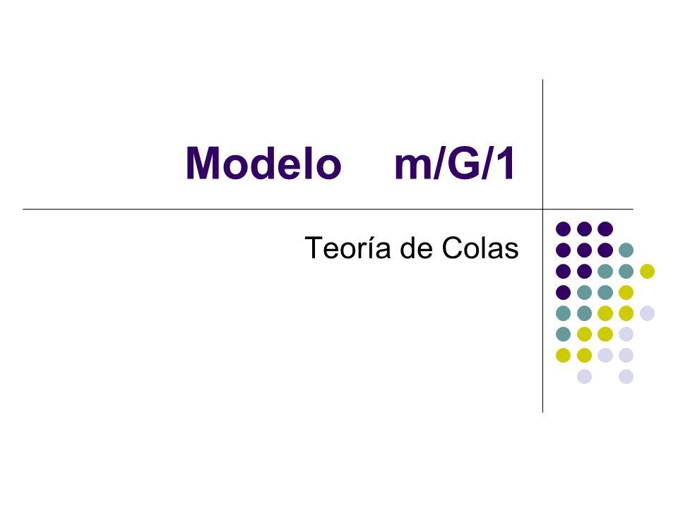 Medidas del desempeño del sistema de colas 1.Lq: Número esperado de clientes en la cola.