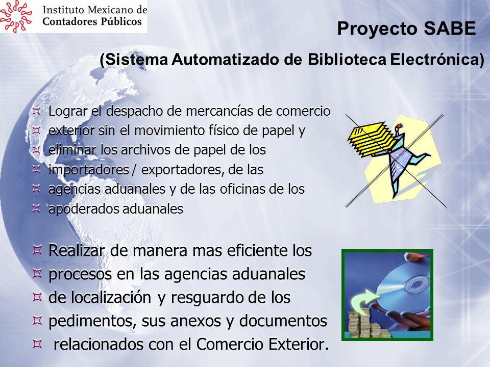 Lograr el despacho de mercancías de comercio exterior sin el movimiento físico de papel y eliminar los archivos de papel de los importadores / exporta