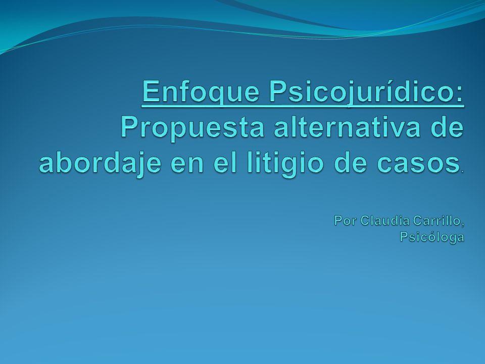 Ausencia de atención a los aspectos psicológicos durante la tramitación del caso.