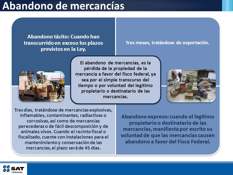 Tráfico de mercancías Vía Postal (Servicio Postal Mexicano) Otros medios de conducción (tuberías o Cables).