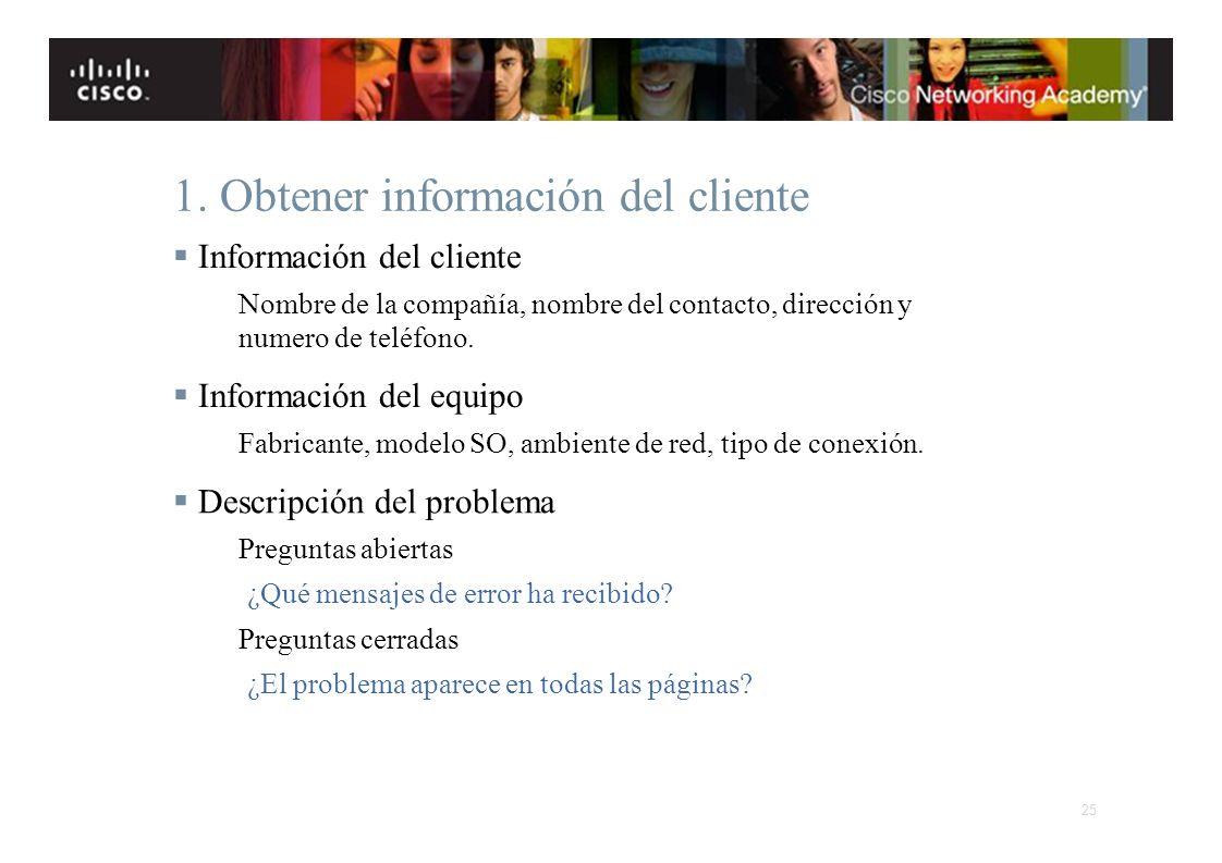 Instituto Tecnológico de Costa Rica Escuela de Ingeniería Electrónica 1. Obtener información del cliente Información del cliente Nombre de la compañía