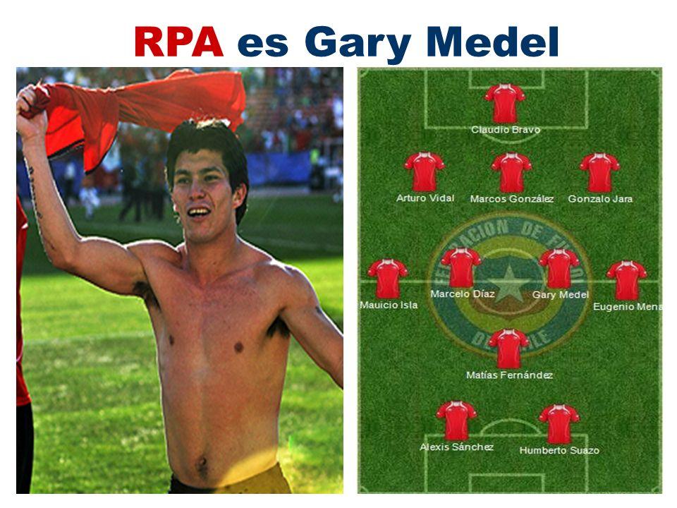 RPA es Gary Medel