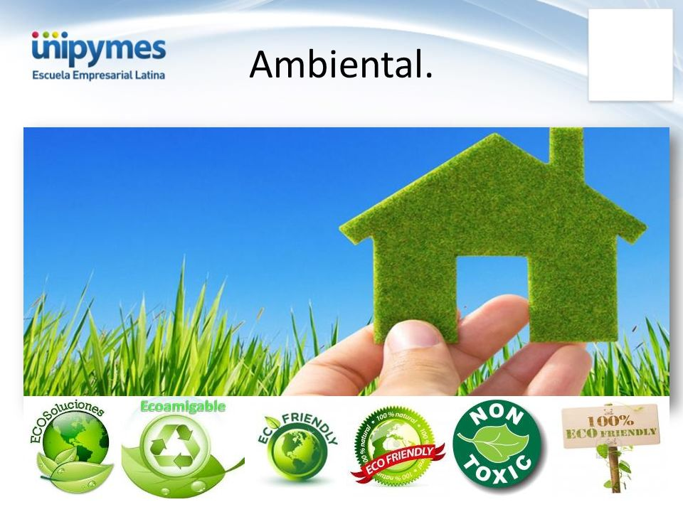 Criterios de Selección Contar con recursos para la implementación de programas ambientales.