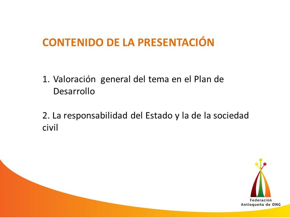 CONTENIDO DE LA PRESENTACIÓN 3.