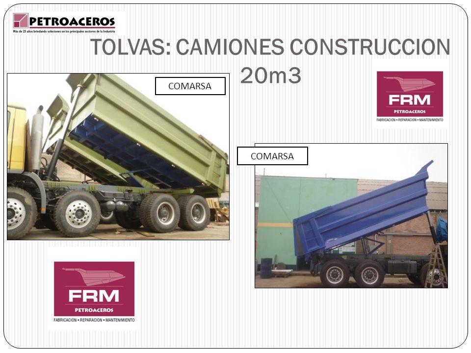TOLVAS: CAMIONES CONSTRUCCION 20m3 COMARSA