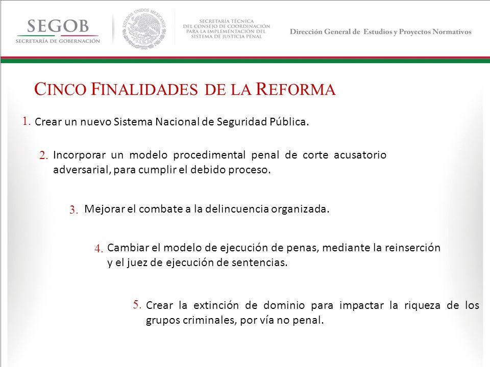 19 de junio de 2008 reglas para el combate a la delincuencia organizada (federalizar pendiente).