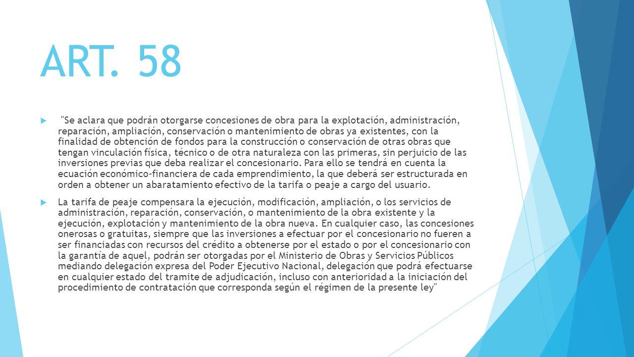 ART. 58