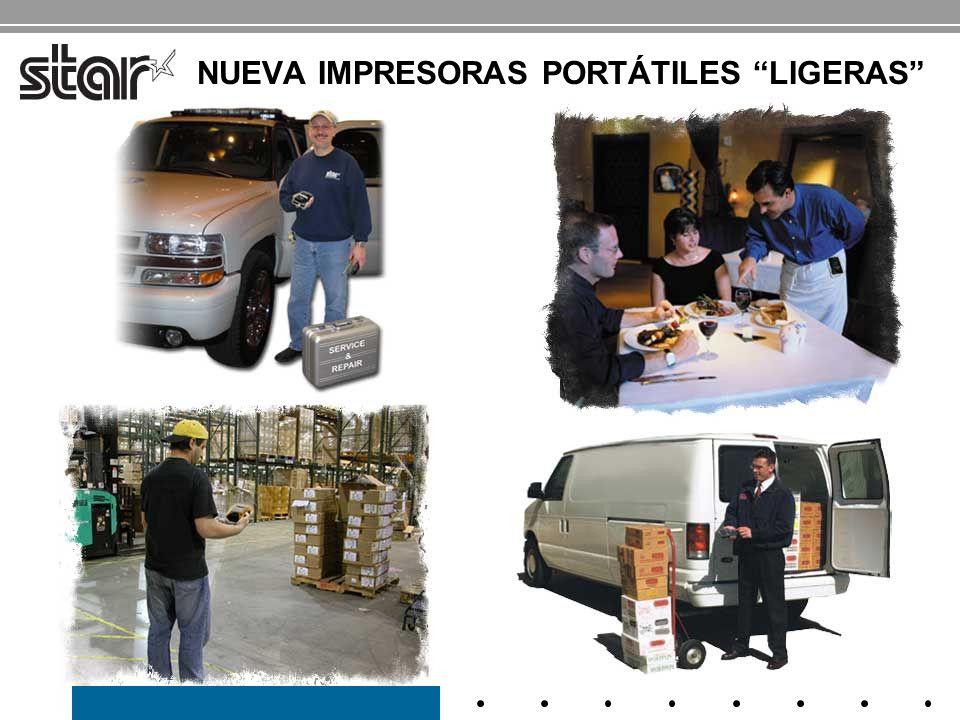 STAR MICRONICS NUEVA IMPRESORAS PORTÁTILES LIGERAS SM-S200 SM-T300 Compacta - de bolsillo Robusta y duradera - se lleva puesta SM-S300 SM-S400