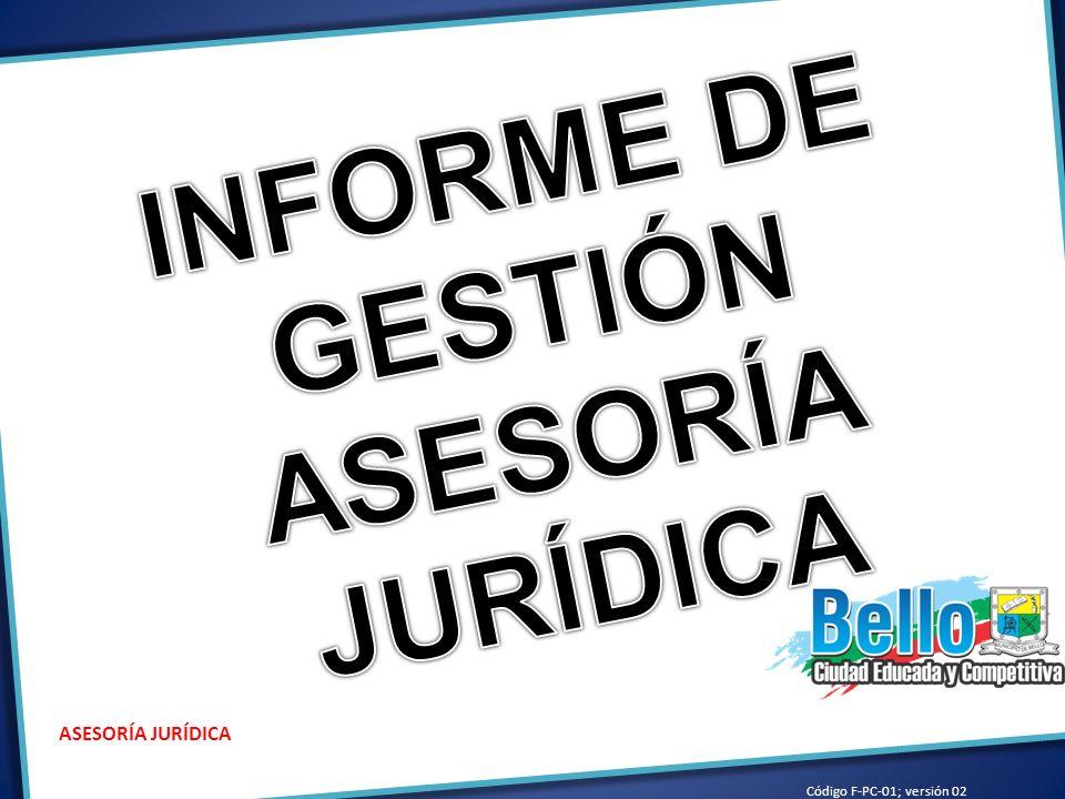 SERVICIOS: REPRESENTACIÓN LEGAL: REPRESENTACIÓN JUDICIAL Y EXTRAJUDICIAL, ANTE DIFERENTES ENTIDADES, DESPACHOS JUDICIALES, CENTROS DE CONCILIACIÓN Y TRIBUNALES DE ARBITRAMENTO REPRESENTANDO LOS INTERESES DE LA ADMINSITRACIÓN MUNICIPAL.