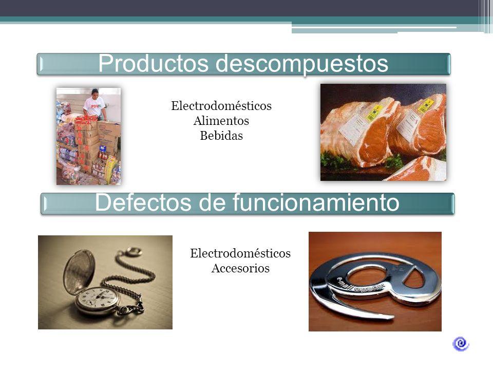 Generado por: Un defecto del fabricante Un defecto de diseño una etiqueta de advertencia inadecuada Defecto de fabricación Producto vencidos Medicamen